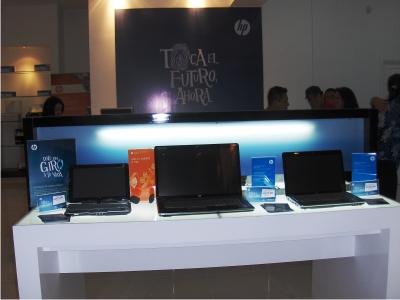 Inauguran nuevo HP Store en providencia