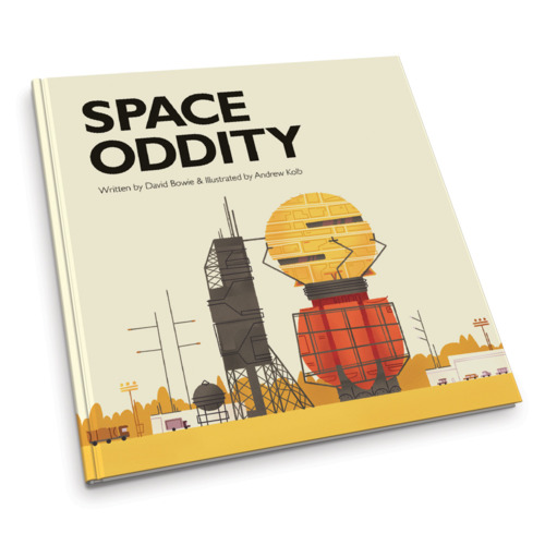 Space Oddity Ilustrado