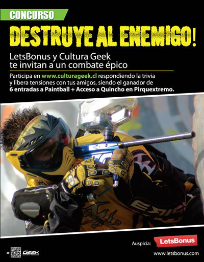 Concurso Paintball