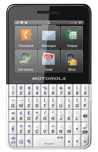 Motorola presenta MOTOKEY XTTM