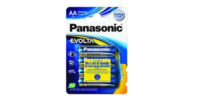 Pilas Panasonic las más convenientes