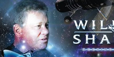 William Shatner busca al Mayor Tom