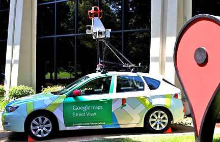 Google Street Map llega a Chile