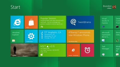 Windows 8: Alerta de Desastre