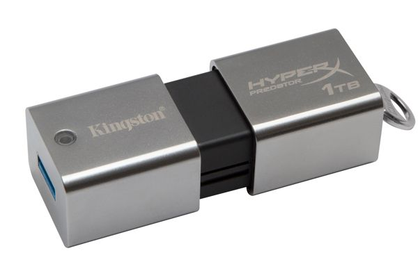 Kingston presenta el pendrive de un Tera